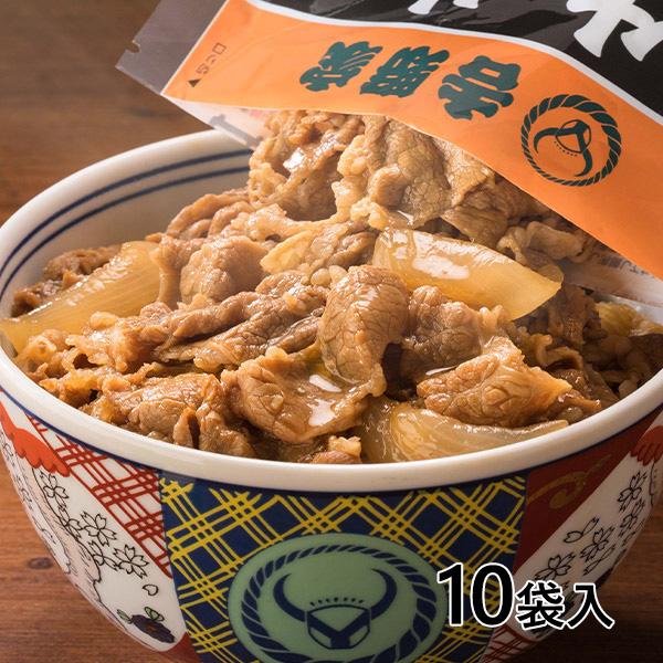 吉野家 牛丼の具 120g×10袋